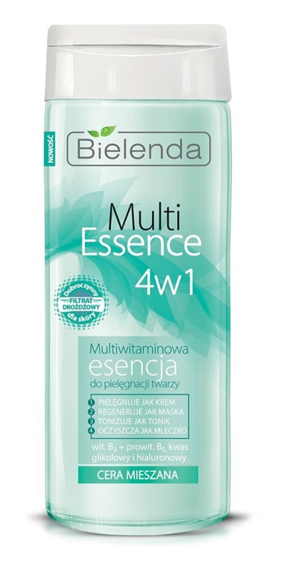 Bielenda Multi Essence 4 in 1 Multivitamin-Essenz für Mischhaut