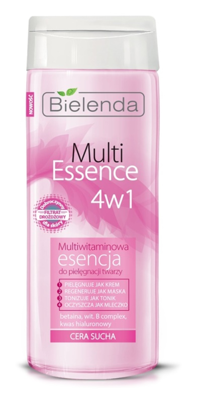 Bielenda Multi Essence 4 in 1 esență cu multivitamine ten uscat