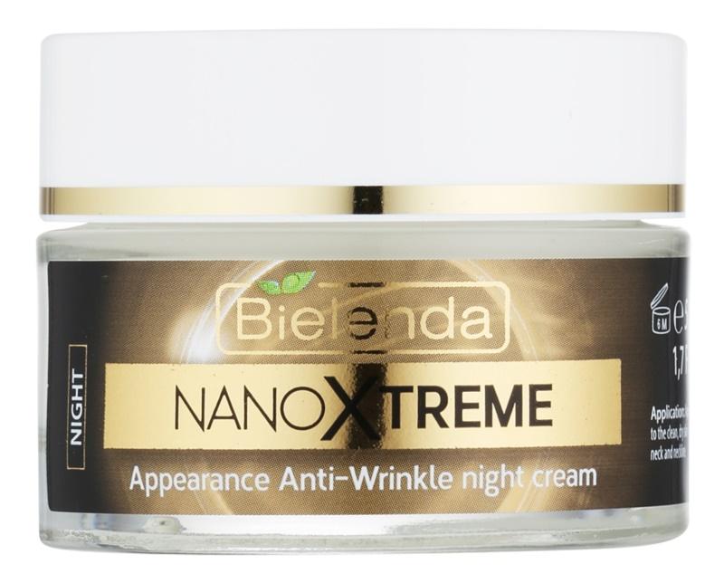 Bielenda Nano Cell Xtreme przeciwzmarszczkowy krem na noc