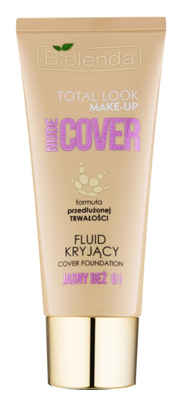 Bielenda Total Look Make-up Nude Cover deckendes Make up-Fluid