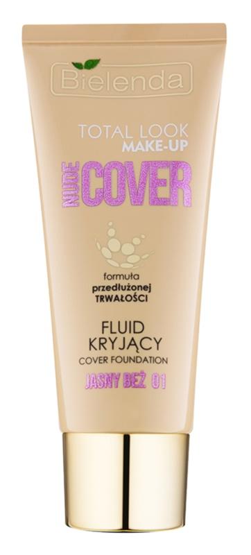 Bielenda Total Look Make-up Nude Cover fond de teint fluide couvrant