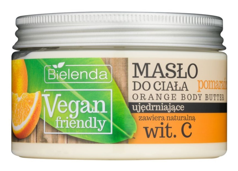 Bielenda Vegan Friendly Orange burro corpo