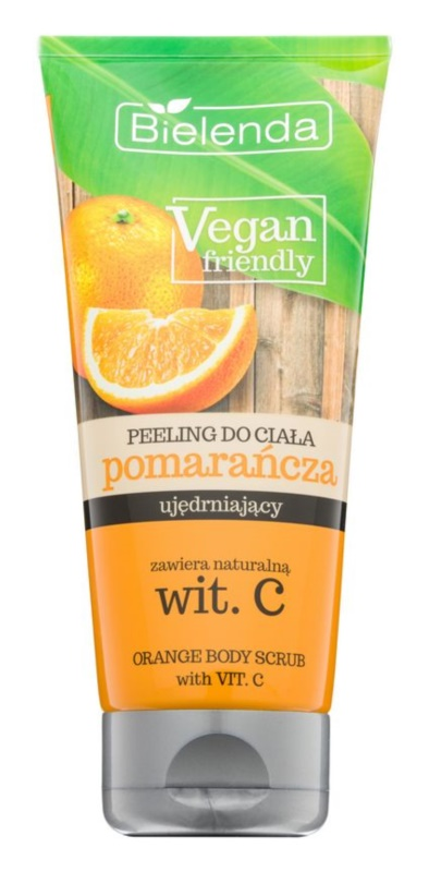 Bielenda Vegan Friendly Orange exfoliant corp