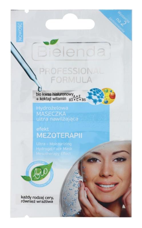 Bielenda Professional Formula maschera in gel idratante