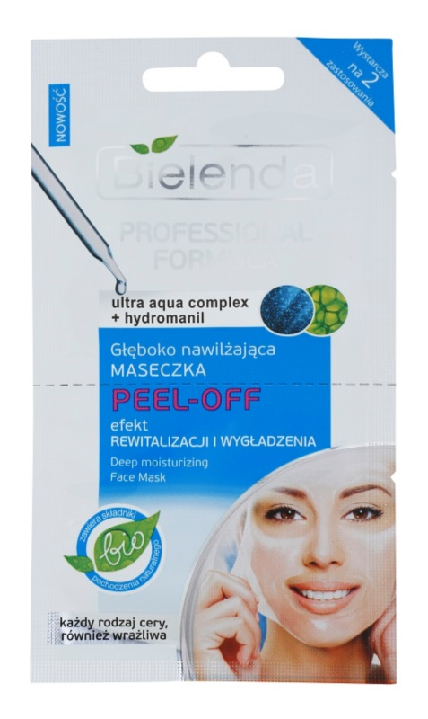 Bielenda Professional Formula Peel - Off Gel Mask With Moisturizing Effect