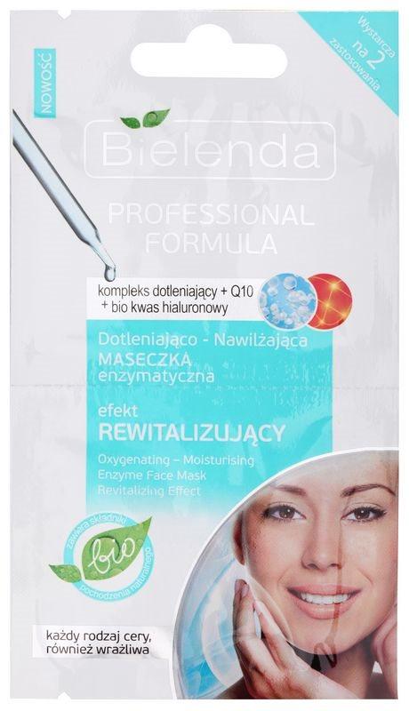 Bielenda Professional Formula Revitalisierende Maske mit feuchtigkeitsspendender Wirkung