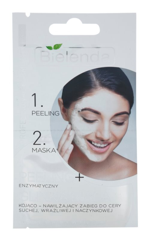 Bielenda Professional Formula peeling a maska pro citlivou a zarudlou pleť