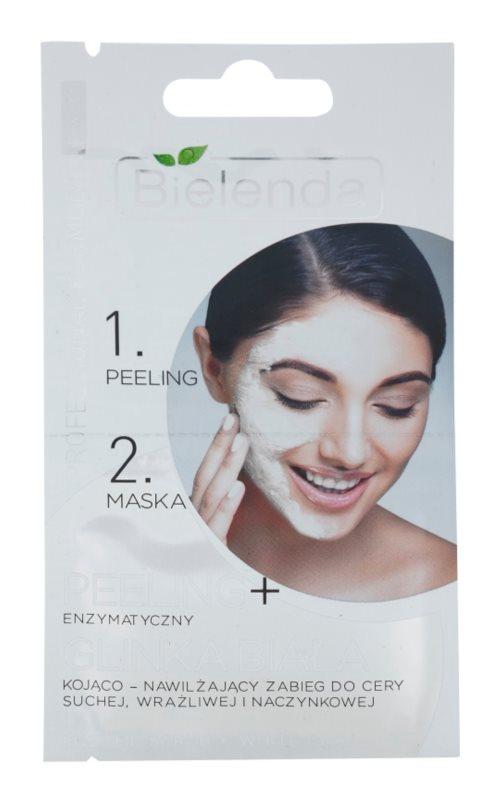 Bielenda Professional Formula scrub e maschera per pelli sensibili e arrossate
