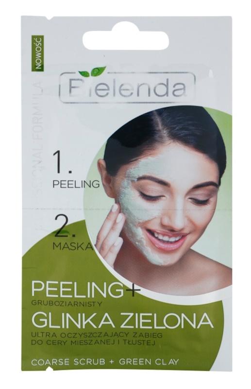 Bielenda Professional Formula scrub e maschera per pelli grasse