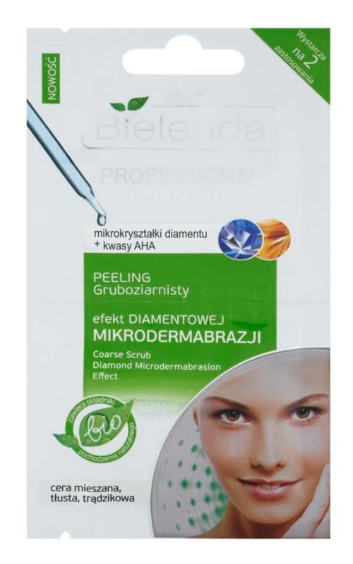 Bielenda Professional Formula gel za piling za masno lice sklono aknama