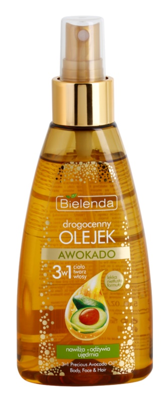 Bielenda Precious Oil  Avocado Nurturing Oil for Face, Body and Hair