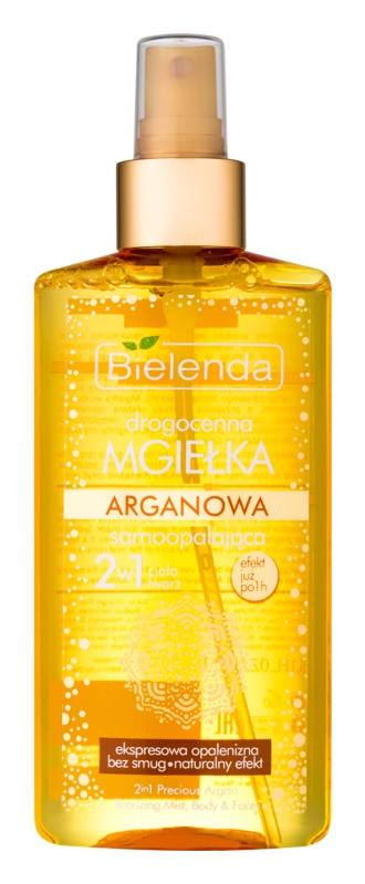 Bielenda Precious Oil Argan Mist αυτομαυρίσματος Για  πρόσωπο και σώμα