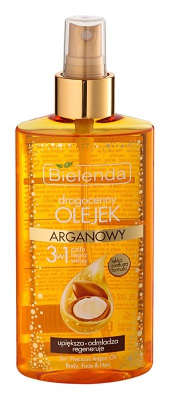 Bielenda Precious Oil  Argan óleo nutritivo para rosto, corpo e cabelo