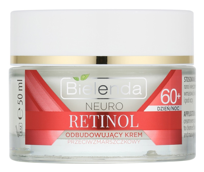 Bielenda Neuro Retinol obnavljajuća krema protiv bora 60+