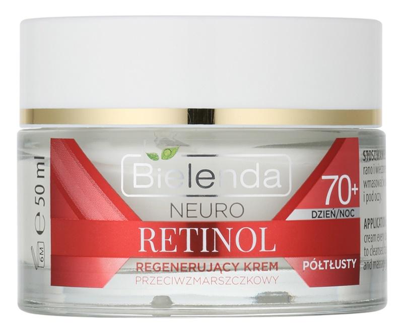 Bielenda Neuro Retinol regenerierende Creme gegen Falten 70+