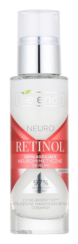 Bielenda Neuro Retinol verjüngerndes Anti-Aging Serum gegen Mimikfalten