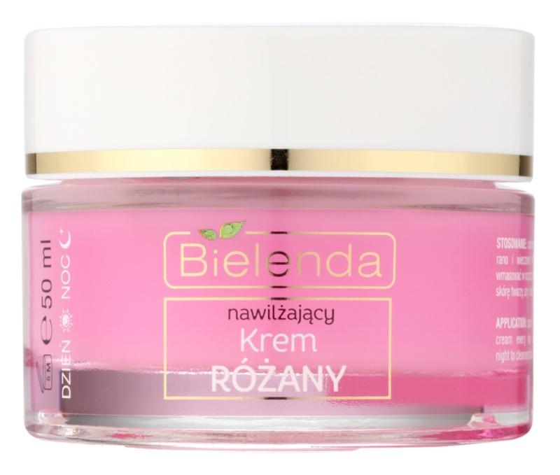 Bielenda Rose Care cremă hidratanta roz pentru piele sensibila