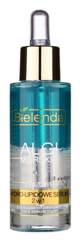Bielenda Sea Algae Hydro-Lipid 2-Phasen-Serum gegen Hautalterung