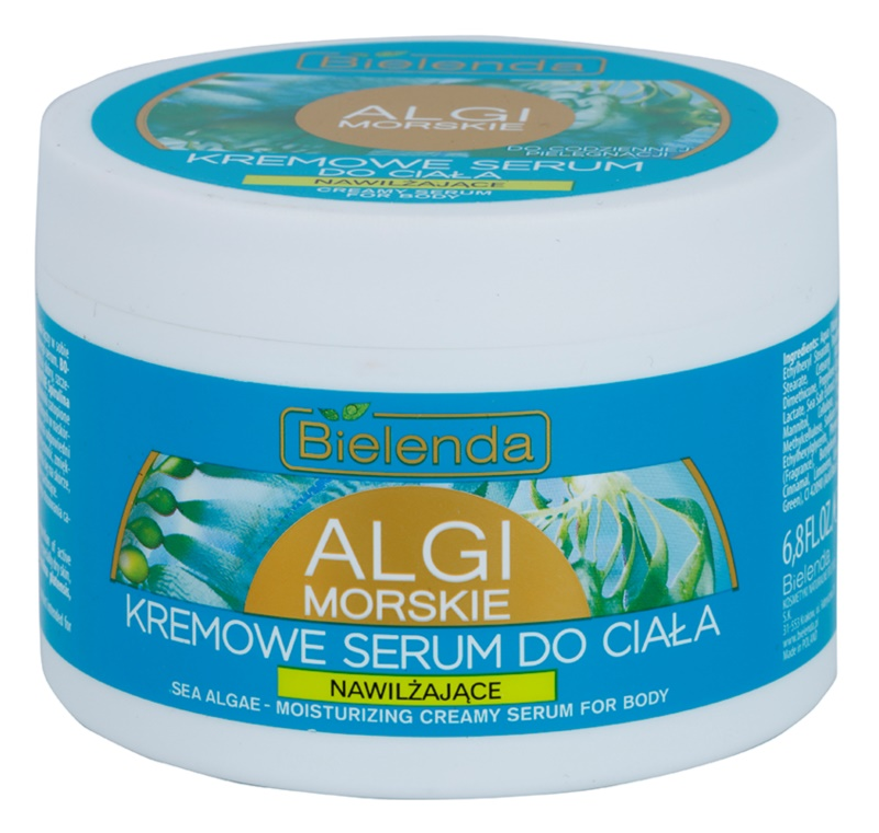 Bielenda Sea Algae Moisturizing creme sérum corporal para firmeza de textura rica de pele