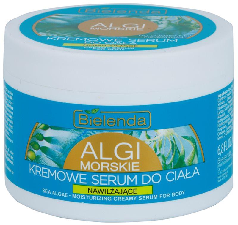 Bielenda Sea Algae Moisturizing kremowe serum do ciała do ujędrnienia skóry