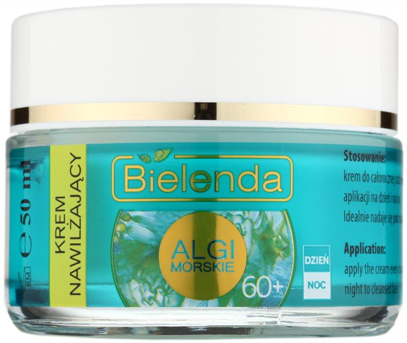 Bielenda Sea Algae Moisturizing Crème tegen Diepe Rimpels  60+