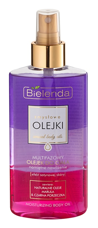 Bielenda Sensual Body Oils óleo corporal multifásico com efeito hidratante