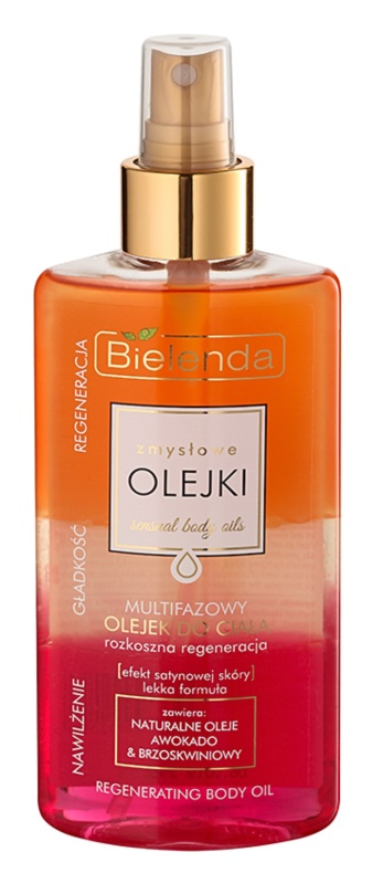 Bielenda Sensual Body Oils Multi-Phase Body Oil Regenerative Effect
