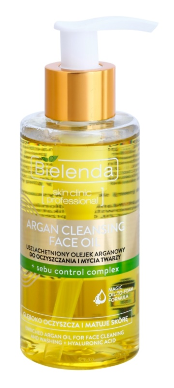 Bielenda Skin Clinic Professional Correcting Argan Cleansing Oil For Oily Skin