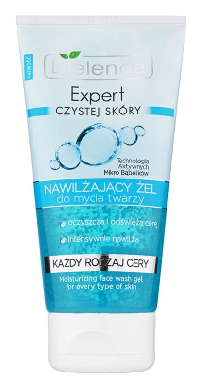 Bielenda Expert Pure Skin Moisturizing gel za pranje lica s hidratacijskim učinkom