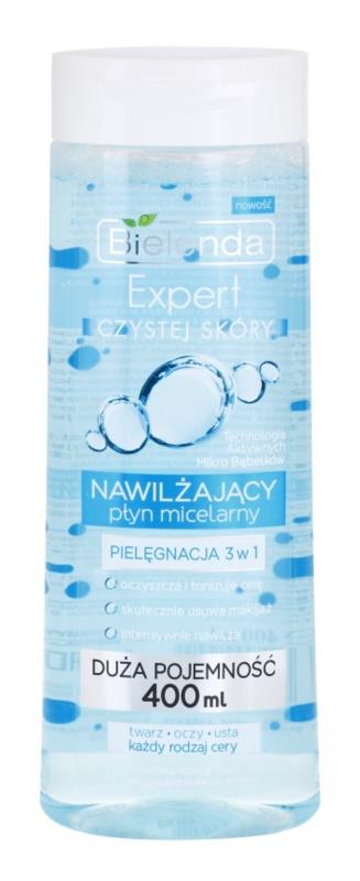 Bielenda Expert Pure Skin Moisturizing Mizellen-Reinigungswasser 3in1