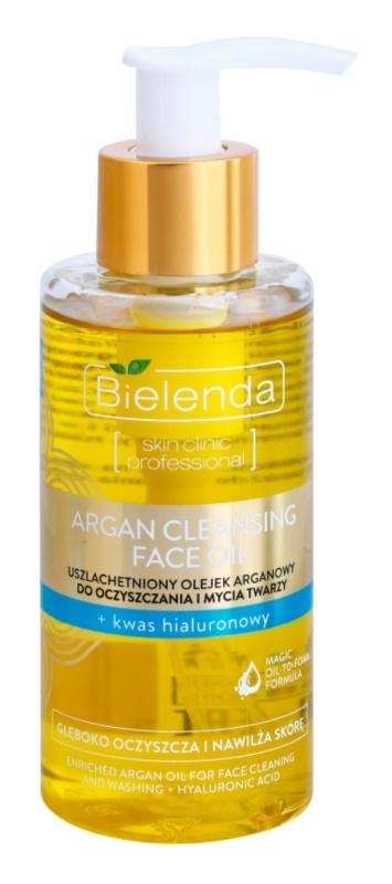 Bielenda Skin Clinic Professional Moisturizing Argan-Reinigungsöl mit Hyaluronsäure