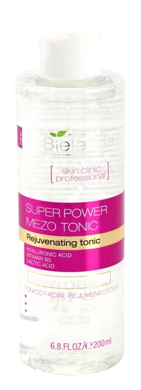 Bielenda Skin Clinic Professional Rejuvenating lotion tonique active pour la régénération de la peau
