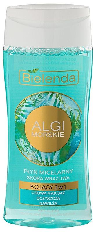 Bielenda Sea Algae Soothing micelarna voda za skidanje šminke 3 u 1