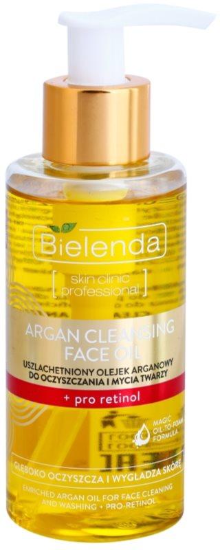 Bielenda Skin Clinic Professional Pro Retinol arganový čisticí olej s retinolem