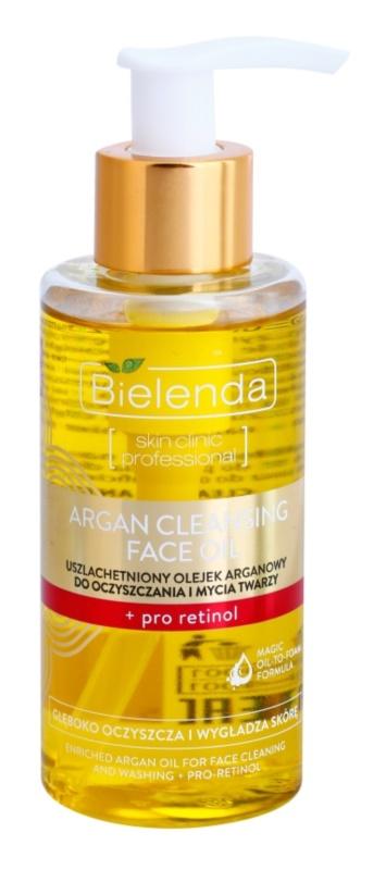 Bielenda Skin Clinic Professional Pro Retinol latte detergente all'olio di argan con retinolo