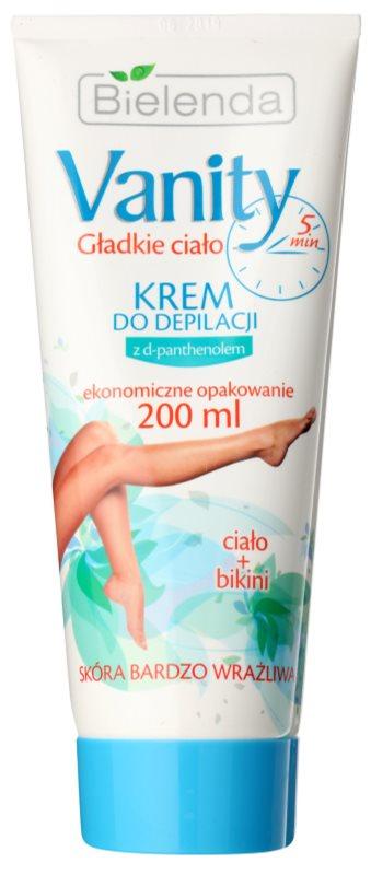 Bielenda Vanity crema depilatoare pentru piele sensibila