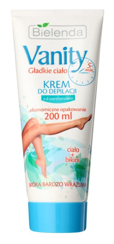 Bielenda Vanity crema depilatoria per pelli sensibili