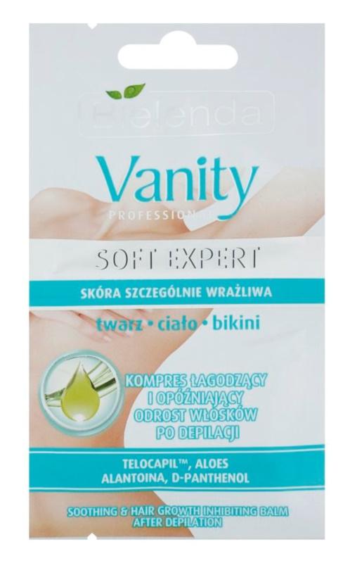 Bielenda Vanity Soft Expert Beruhigendes Balsam nach der Depilation