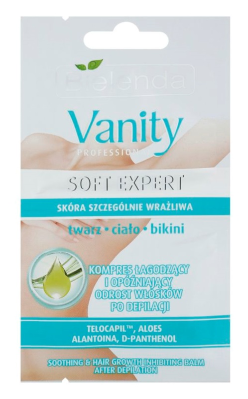 Bielenda Vanity Soft Expert заспокоюючий бальзам після депіляції