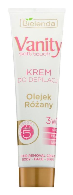 Bielenda Vanity Soft Touch crème dépilatoire pour peaux sèches