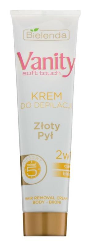 Bielenda Vanity Soft Touch crème dépilatoire pour tous types de peau
