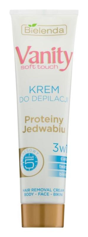 Bielenda Vanity Soft Touch crème dépilatoire pour peaux douces