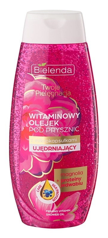 Bielenda Your Care Magnolia & Silk Protein festigendes Duschöl mit Vitaminen
