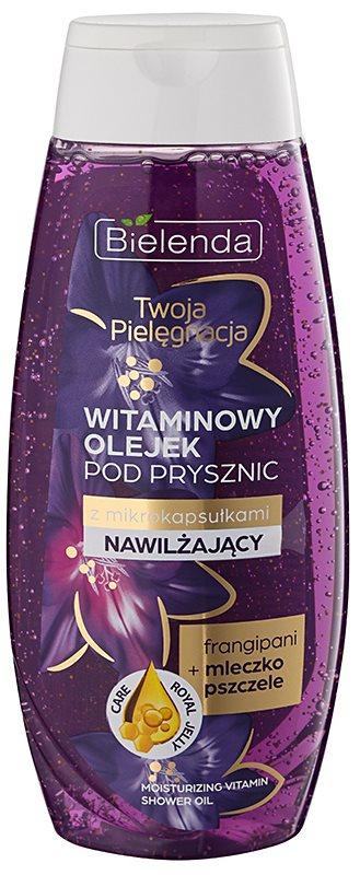 Bielenda Your Care Frangipani & Royal Jelly óleo de banho para hidratar e refrescar a pele com vitaminas