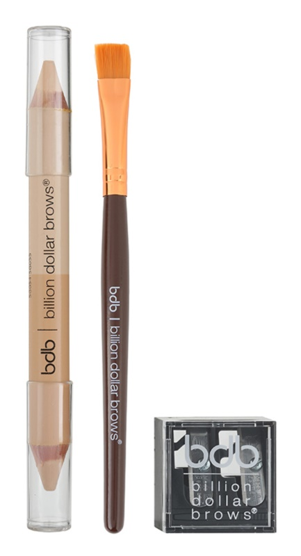 Billion Dollar Brows Color & Control szett a tökéletes szemöldökért