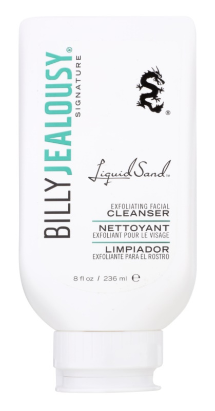 Billy Jealousy Signature Liquid Sand exfoliante de limpeza em gel