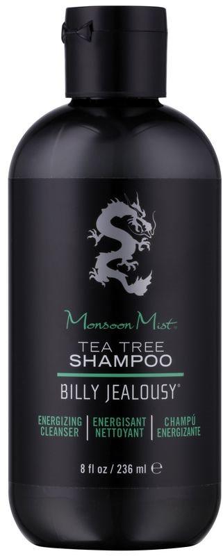 Billy Jealousy Tea Tree Monsoon Mist szampon energizujący do wszystkich rodzajów włosów