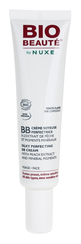 Bio Beauté by Nuxe Skin-Perfecting BB krém s broskvovým extraktem a minerálními pigmenty