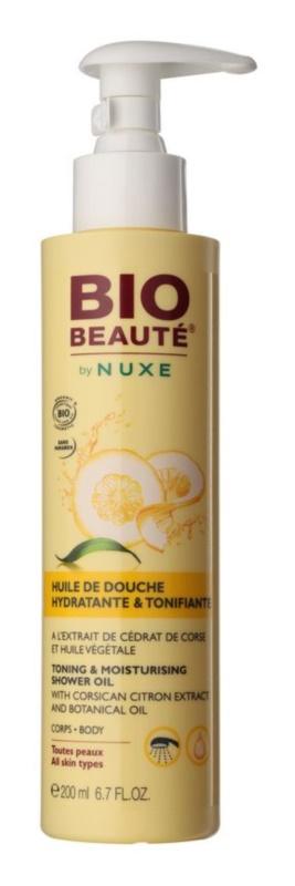 Bio Beauté by Nuxe Body hidratáló és frissítő tusoló olaj