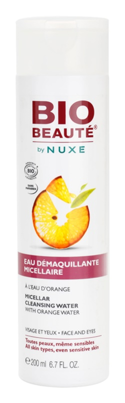 Bio Beauté by Nuxe Cleansing Cleansing Micellar Water With Orange Water